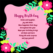 send some birthday cheer to your friend on his her special day