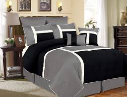 charcoal grey bedroom black and grey comforter sets black and