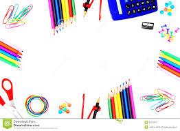 themed frames school themed frame stock image image 25770211