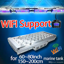 Led Aquarium Light Fixtures 2018 Led Aquarium Light Fixture For Saltwater Coral Tanks Dimmable