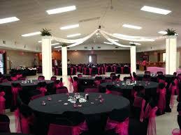 idea black table cloths wedding color accent rectangle