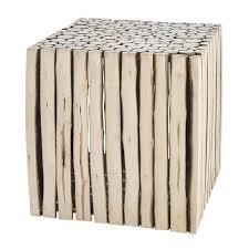 bout de canap bois bout de canapé l 38 cm canapé en bois bout de canapé et