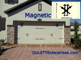 Magnetic Garage Door Decorative Hardware Kit Carriage House Faux