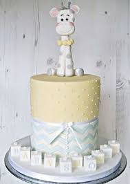 new baby u0027 announcement cake ivory and lime green with cute baby