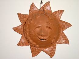 terra cotta sun ornament picture free photograph photos