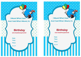 dr seuss birthday invitations free printable dr seuss birthday invitations bagvania free