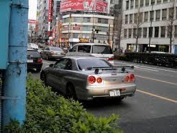 nissan skyline japanese to english conversion r34 nissan skyline gtr tokyo japan in akihabara i think