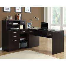 home design modern l shaped desk photos room ideas throughout 81
