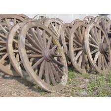 groovystuff antique western wood wagon wheel tf 221