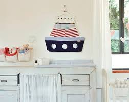 Changing Table Caddy Sailor Fabric Organizer Caddy And Accessories
