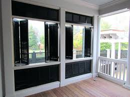 Shutters For Homes Exterior - modern exterior wood shutters for windows window house design