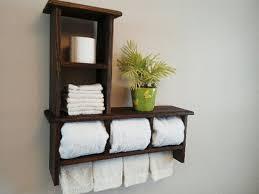 Bathroom Shelves With Towel Rack 15 Bathroom Towel Racks Shelves To Buy Home Decor Ways