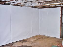 Basement Waterproofing Rockford Il - cleanspace basement wall vapor barrier system in wisconsin