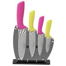 pink kitchen knives rocknife ceramic kitchen knife set titch u0026 cable