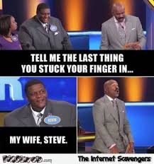 Family Photo Meme - the last thing you stuck your finger in funny family feud meme pmslweb