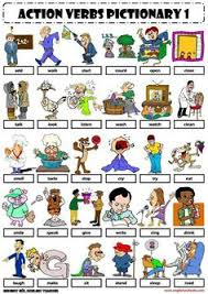 list of action verbs action words english grammar lesson in pdf