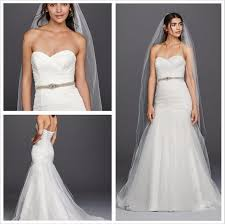 davids bridal wedding dresses 2016 mermaid tulle wg3791 davidsbridal wedding dresses strapless
