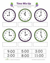 14 best telling time worksheets images on pinterest telling time