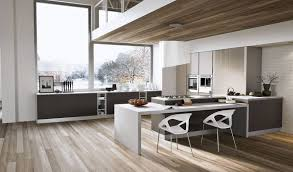Grey Wood Floors Kitchen by White And Wood Floors And Modern Grey Kitchens Google Search