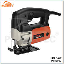 china powertec 55mm 450w wood cutting tools electric jig saw