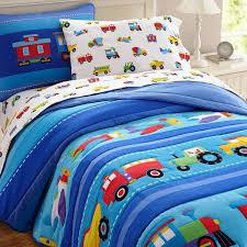 Boys Duvet Cover Full Bedding Set Amazing Construction Toddler Bedding Details About