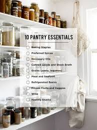 how to store food in a cupboard 10 must ingredients for a stocked pantry the everygirl