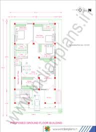 tranquil 3 bhk house design plan