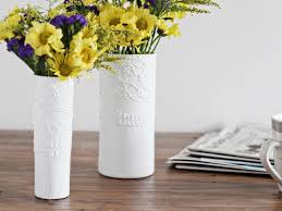 How To Paint A Vase How To Make A Modern Textured Vase Hgtv