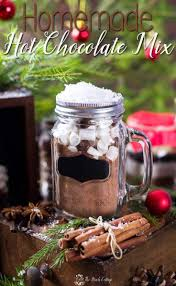Christmas Snack Recipes For Gifts Homemade Chocolate Mix Gift Idea With Labels