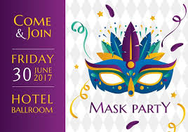 mask party mask party template free vector free vector stock