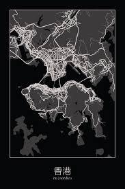 printable maps hong kong hong kong china map print maps pinterest