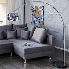 Wohnzimmer Design Lampen Big Bow Bogenleuchte Chrome Retro Design Lampe Ohne Dimmer Von