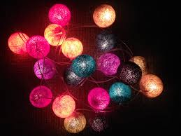 String Ball Lights by Having A Ball Plus Win Beautiful Cable And Cotton Ball Lights