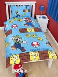 Brothers Bedding Nintendo Super Mario Bros Games Single Duvet Quilt Cover