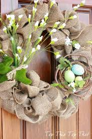 Easter Decorations Hobby Lobby by The Easiest Burlap Wreath You Will Ever Make Duke Manor Farm
