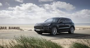 porsche headlights at night 2018 porsche cayenne debuts as company says its more 911 like than