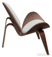 Lifeinteriors Dubai The Replica Hans Wegner Leather Shell Chair - Hans wegner chair designs