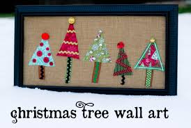 christmas tree wall art oopsey daisy