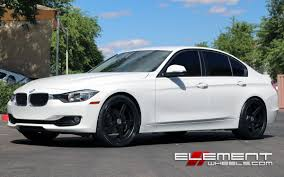 matte black and pink bmw tsw mirabeau matte black on 2013 bmw 3 series sedan w specs wheels