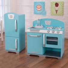 pink retro kitchen collection play kitchen sets accessories you ll wayfair