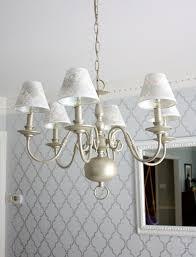 Brass Chandelier Makeover Brass Chandelier Makeover For The Home Pinterest Brass