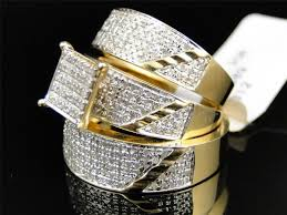 cheap wedding sets for him and modern and cheap wedding rings sets for him and