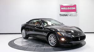 maserati granturismo 2015 black new u0026 pre owned maserati inventory california maserati dealer