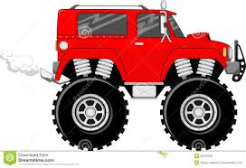 videos de monster truck 4x4 monstertruck cartoon vector royalty free stock image image 32016166