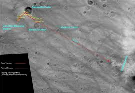 Spirit Route Map by Unmanned Spaceflight Com U003e Spirit Route Map