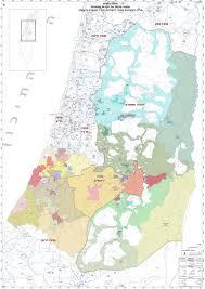 West Bank Map Adalah Opposes Mandate Of Israeli Interior Ministry Borders Cmte