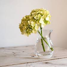 Clear Vases Small Clear Glass Vase By Home Address Notonthehighstreet Com