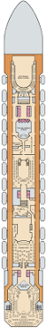 carnival freedom deck plans balcony stateroom