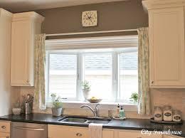 Farmhouse Kitchen Curtains by Linen Pom Pom Cafe Curtains City Farmhouse