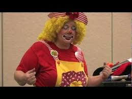 birthday clowns it tougher than you think i ll take that rushil s 1st birthday party with razzle dazzle the clown 1 3